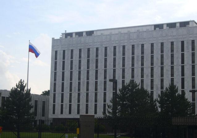 俄大使馆谈塞申斯疑似第三次会见俄大使消息:不会通报工作性接触