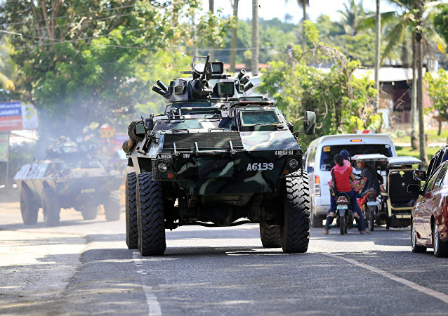 菲律賓政府打擊恐怖主義