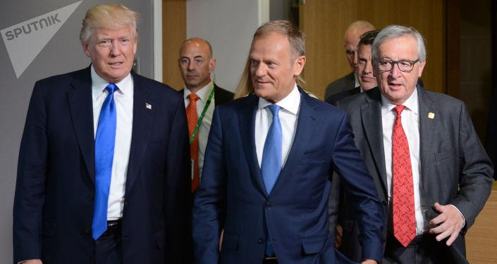 图斯克建议特朗普尊重其为数不多的盟友