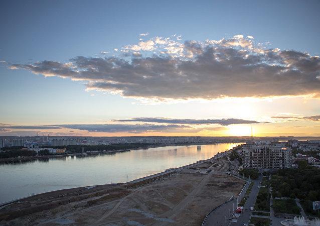 俄布拉戈维申斯克往返中国黑河口岸客运渡轮将从明日起通航