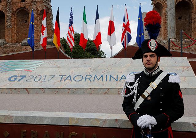 G7首腦簽署反恐宣言
