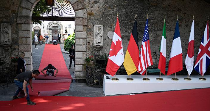 G7希望与俄罗斯搁置分歧 合作解决地区危机