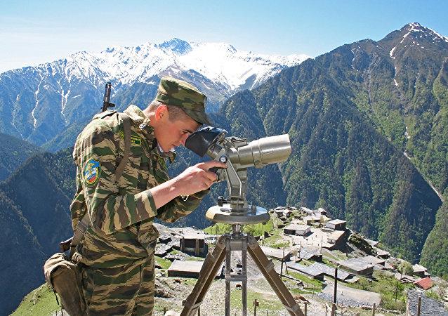 普京向邊防人員祝賀節日並稱贊其出色工作