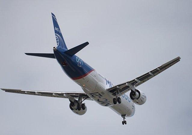 诺瓦克:俄罗斯有意向阿尔及利亚供应МС-21客机