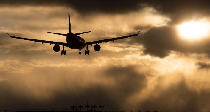 一架空中客车飞机