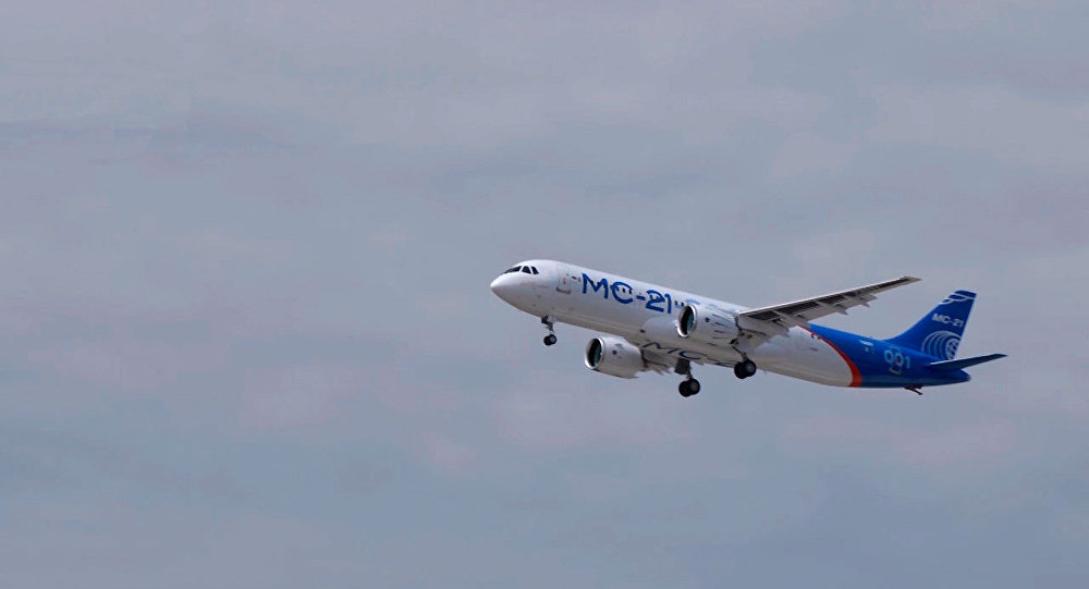 俄制新型客机MS-21