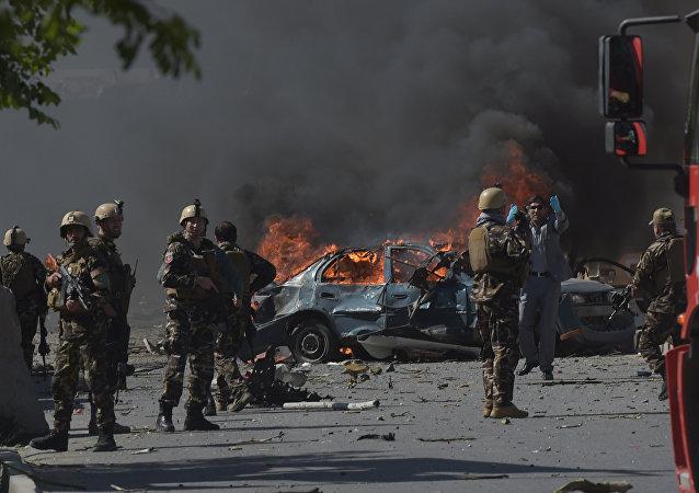喀布爾爆炸
