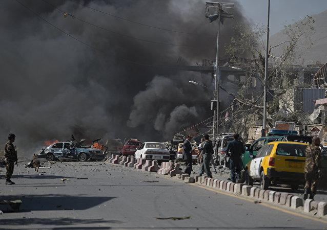 阿富汗喀布尔爆炸事件中40人死亡