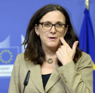 歐盟貿易委員塞西莉亞•馬爾姆斯特倫