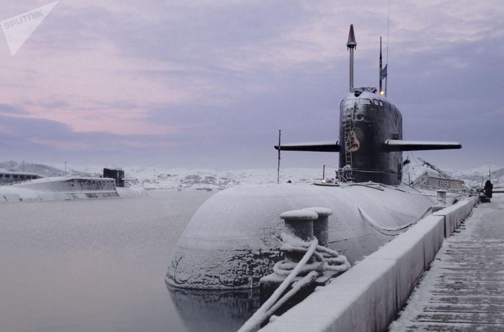 「安泰」級核潛艇。