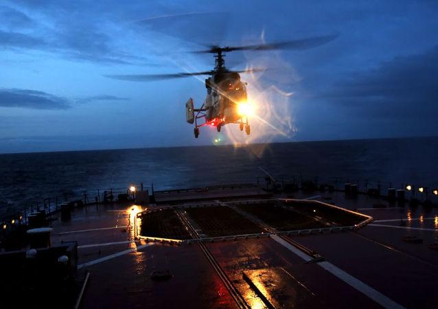 卡27M舰载直升机