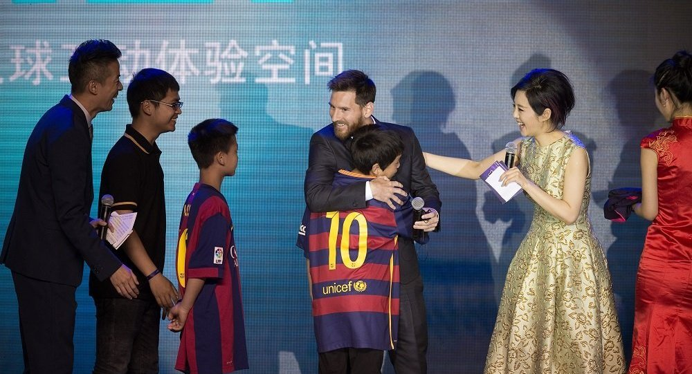 Messi to build theme park in Nanjing