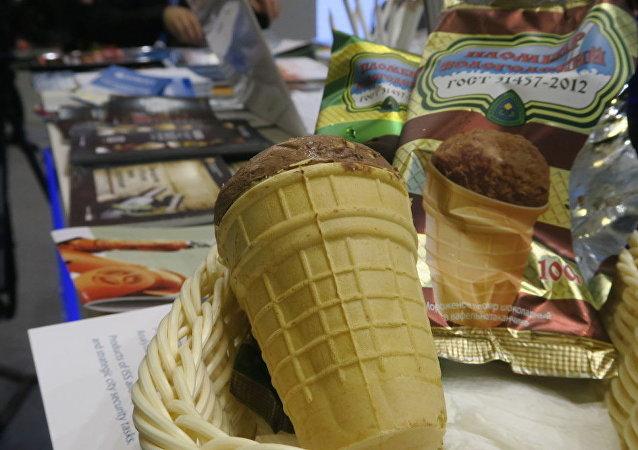 俄冰淇淋在中食展上獲金牌