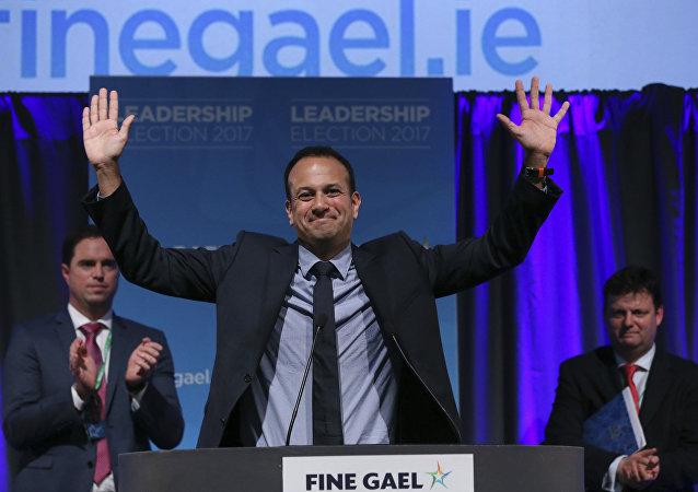 爱尔兰社会保障部部长利奥·瓦拉德卡