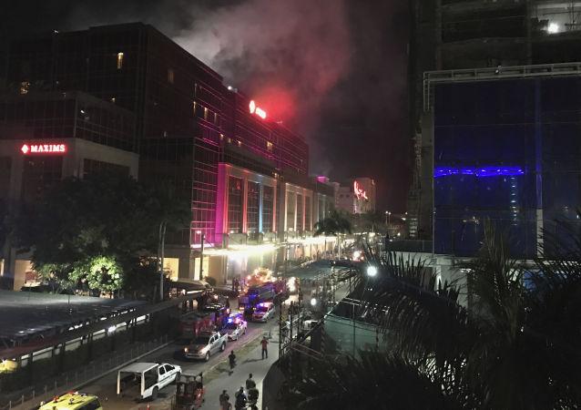 菲律宾警方已经确定了袭击马尼拉赌场的男子身份