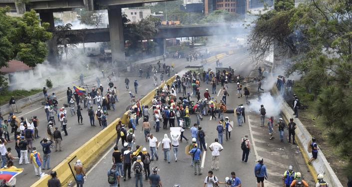 委内瑞拉反对派(资料图片)