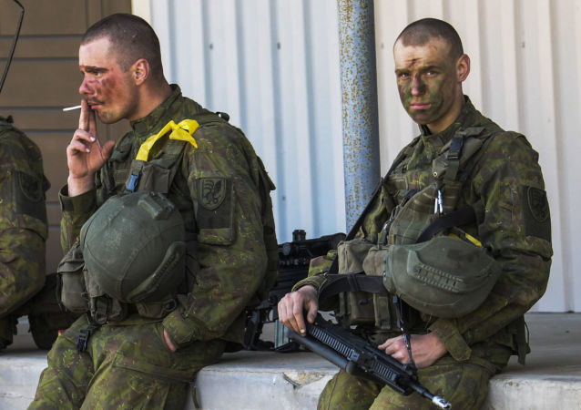 警方:4名德国士兵在立陶宛斗殴中受伤