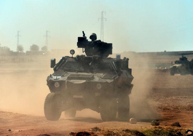 拉夫罗夫:联军在叙对试图阻止恐怖分子的力量进行打击