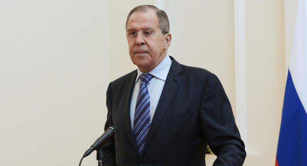 俄外长:俄中已建立多方位战略关系