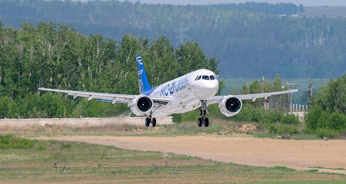 俄MC-21客机
