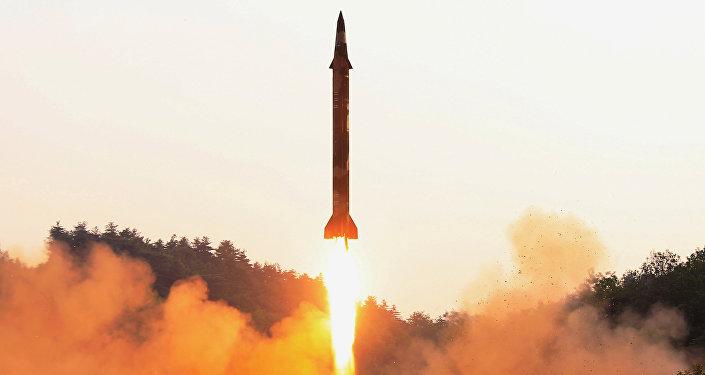 日本防衛省稱,朝鮮再次發射導彈/資料圖片/