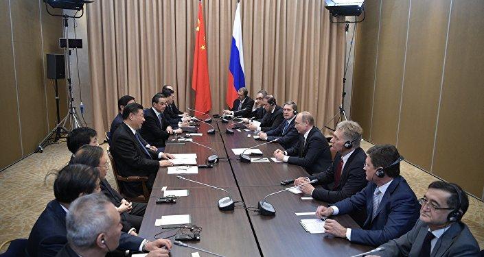 俄中領導人在阿斯塔納討論了即將到來的習近平訪俄之行事宜