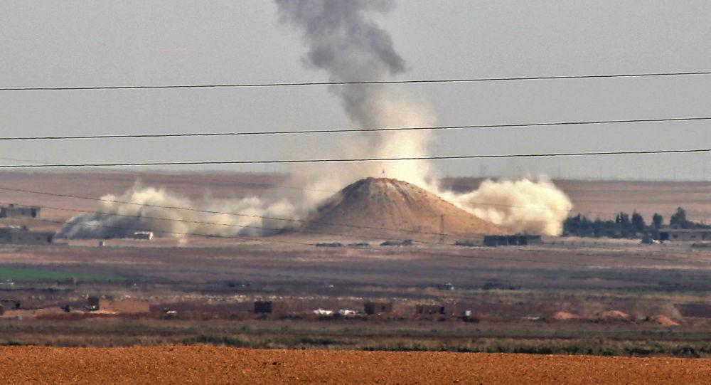 以美国为首的国际联盟对叙利亚发动袭击 致12名平民死亡
