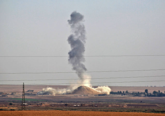 以美國為首的國際聯盟對敘利亞發動襲擊 致12名平民死亡