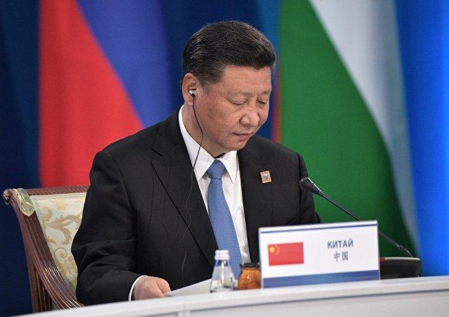 中国国家主席出席上海合作组织成员国元首理事会第十七次会议