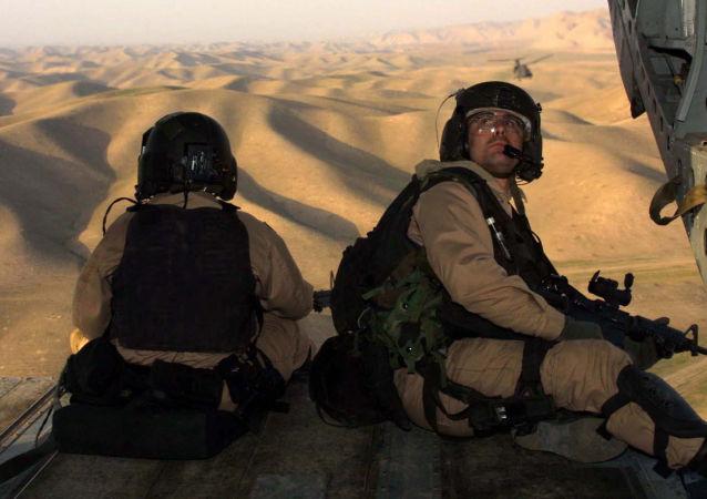 一架美軍直升飛機在阿富汗墜毀一人死亡