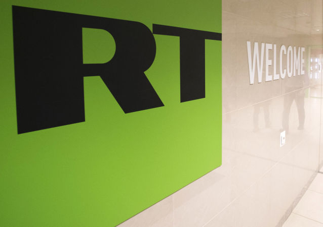 在华盛顿转播RT电视台的内容提供商公司其电视台从网络中删除