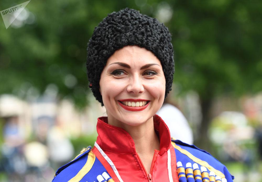 艾爾米塔什公園舉行俄羅斯「茶炊聯歡節」