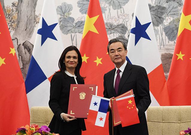 中国在巴拿马运河区确立了外交存在