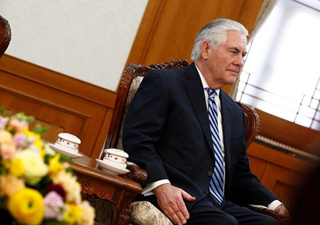 美国国务卿蒂勒森