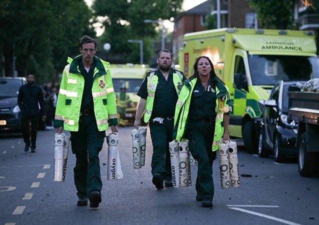 伦敦消防员