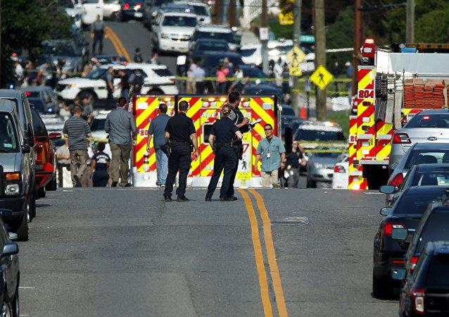 美国华盛顿郊外枪击案中受伤议员正在手术 状况稳定