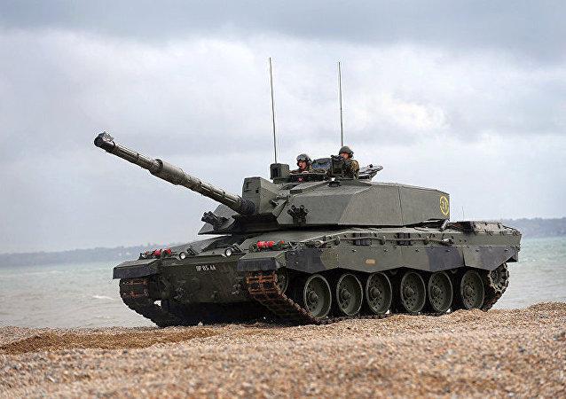 英國 Challenger 2 坦克