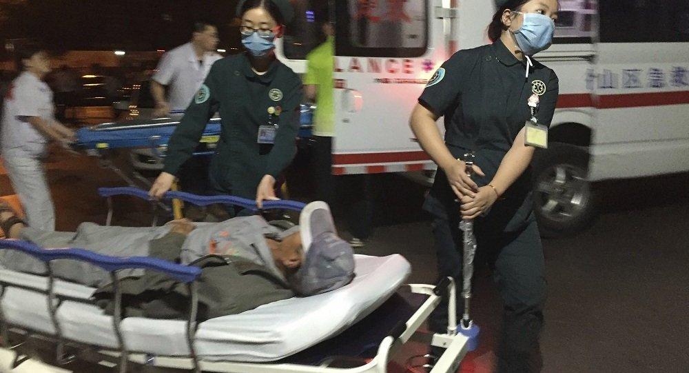 陕西一危爆运输车辆爆炸 致7人失联13人受伤