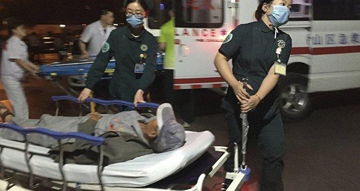 中国贵州境内发生天然气管道爆炸 致 1人受伤