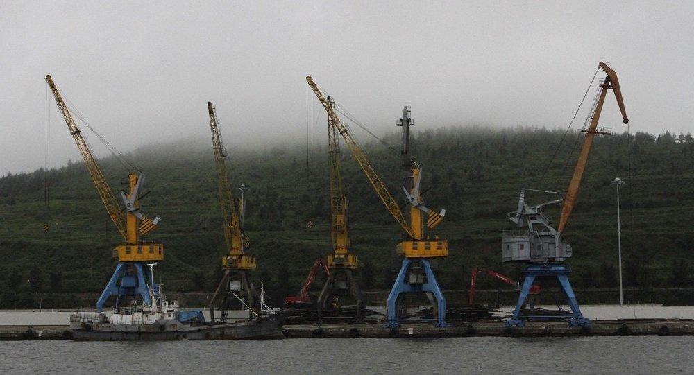 朝鮮羅津港