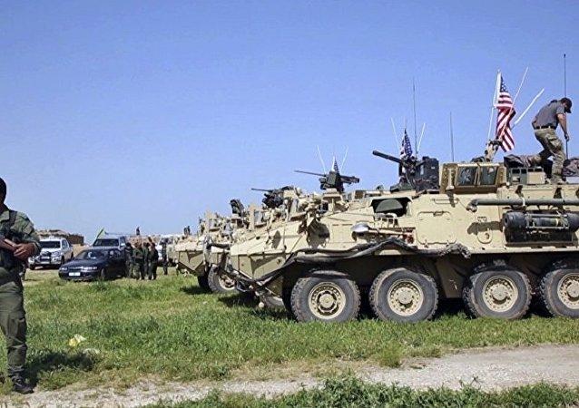 美軍在敘利亞