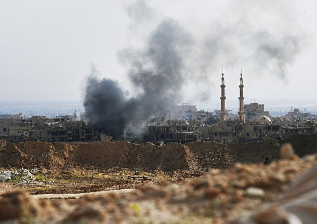 俄罗斯国防部:在叙利亚消灭了伊斯兰国组织的两名野战指挥官
