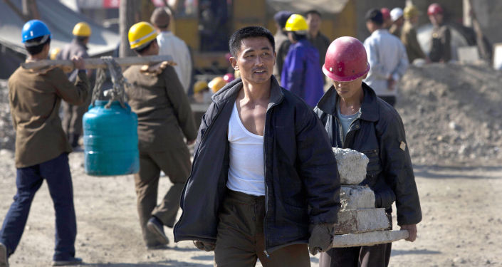 朝鲜工人在俄工作
