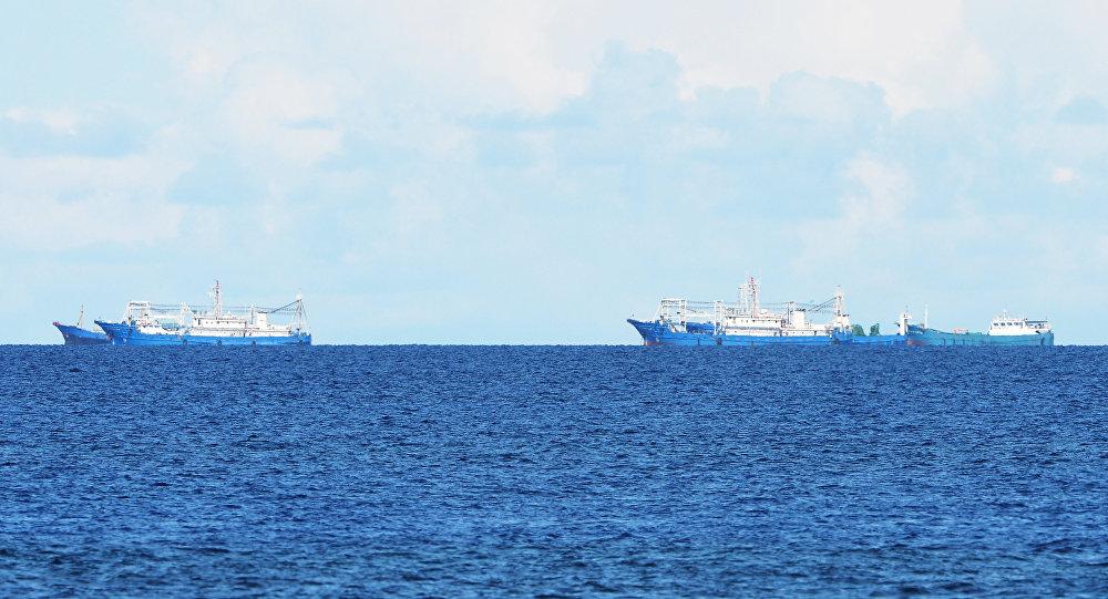 中國船隻涉嫌在公海向朝鮮船隻輸送石油的報道不符合事實