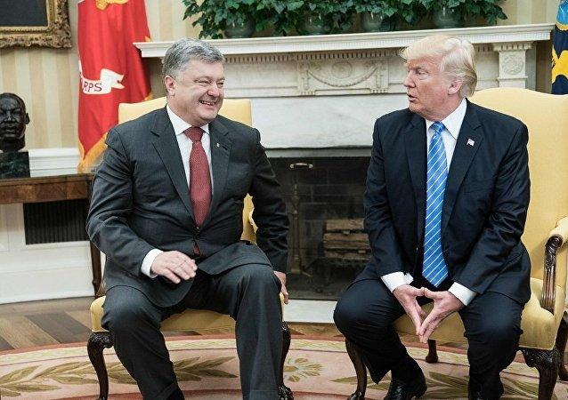 乌前外交官曝乌美领导人会晤是花钱买来的