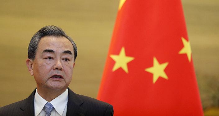 中国外交部长 王毅