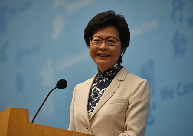 Hong Kong's chief executive elect Carrie Lam