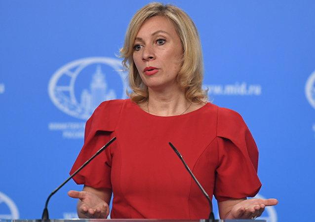 俄外交部发言人扎哈罗娃领衔俄媒体最常提及的女性排行榜