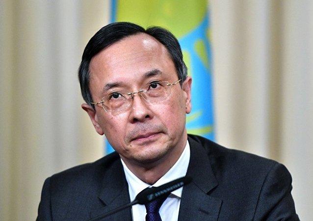 哈萨克斯坦外交部长阿布德拉赫曼诺夫