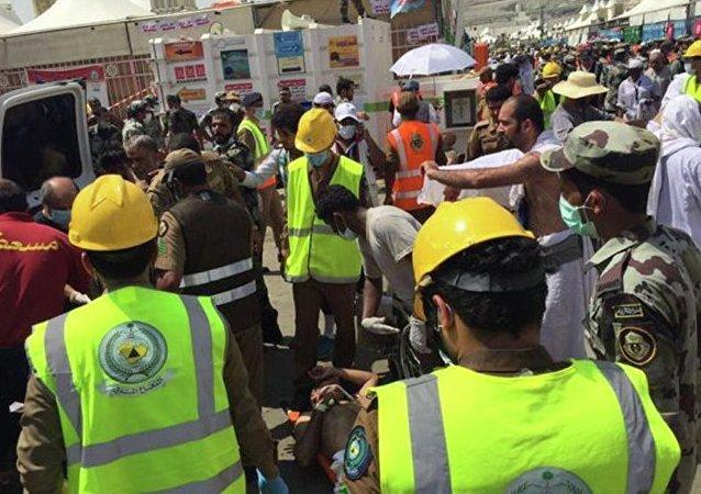 沙特阿拉伯卫生部确认,麦加附近踩踏事故是朝觐者导致